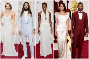 Stealworthy Style: The Best Oscar Dresses and Suits To Borrow For Your Wedding Day Look