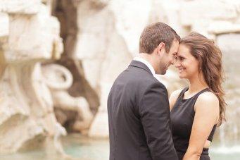 Utterly Romantic Engagement Shoot in Rome