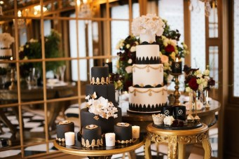 Luxurious Black & Gold Wedding Inspiration