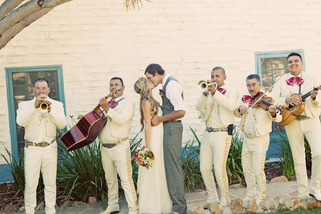 Mariachi Band Wedding | Bridal Musings Wedding Blog
