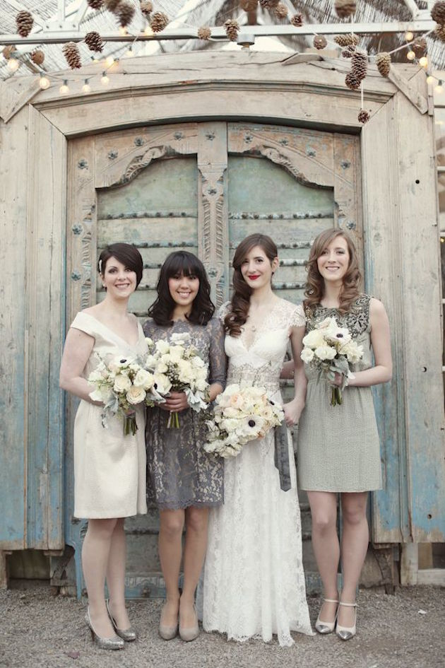 35 ideas for mix and match bridesmaid dresses. Black Bedroom Furniture Sets. Home Design Ideas