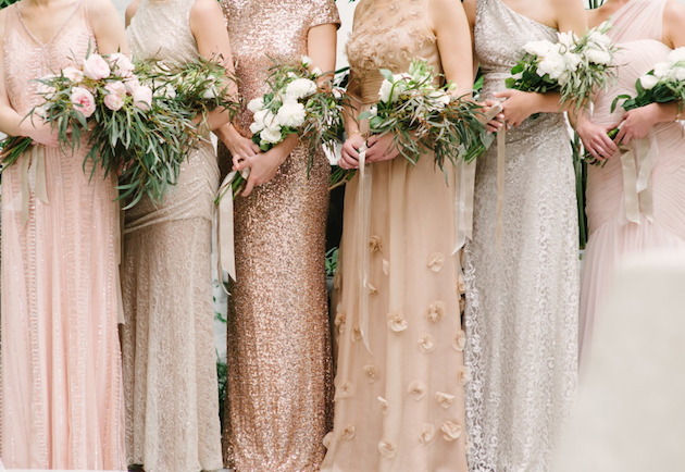 Mix and Match Bridesmaid Dress Ideas | Bridal Musings Wedding Blog 12