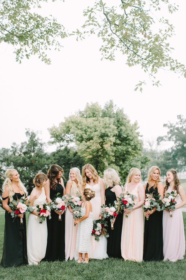 Mix and Match Bridesmaid Dress Ideas | Bridal Musings Wedding Blog 15