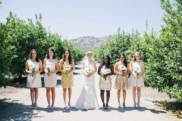 Mix and Match Bridesmaid Dress Ideas | Bridal Musings Wedding Blog 23