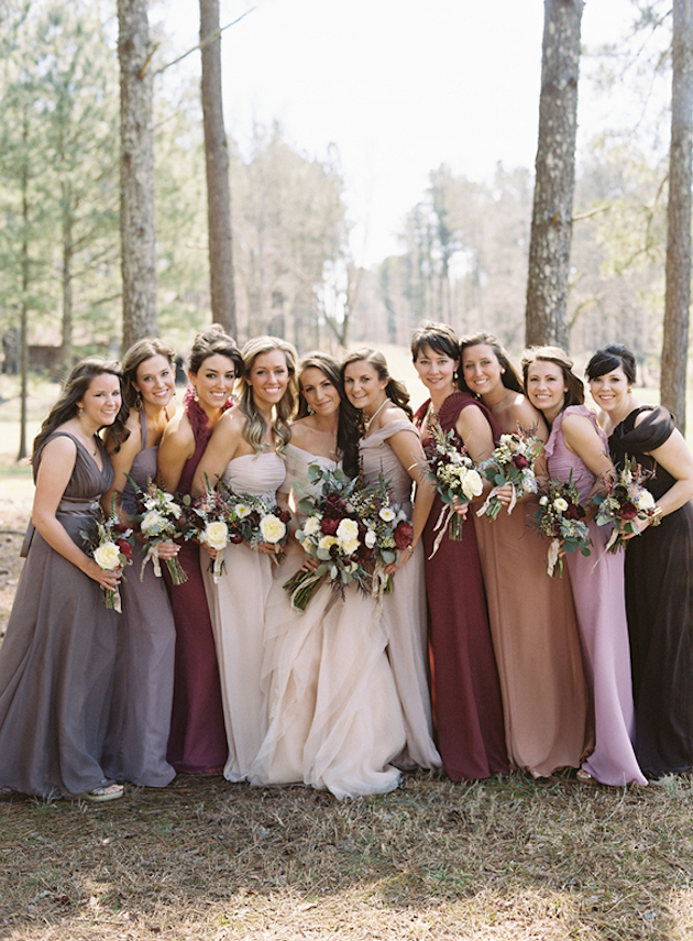 Mix and Match Bridesmaid Dress Ideas | Bridal Musings Wedding Blog 26