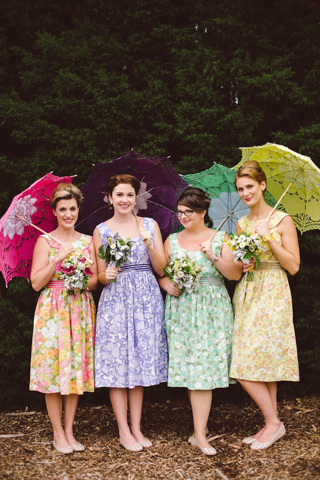 Mix and Match Bridesmaid Dress Ideas | Bridal Musings Wedding Blog 27