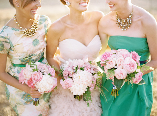 Mix and Match Bridesmaid Dress Ideas | Bridal Musings Wedding Blog 36