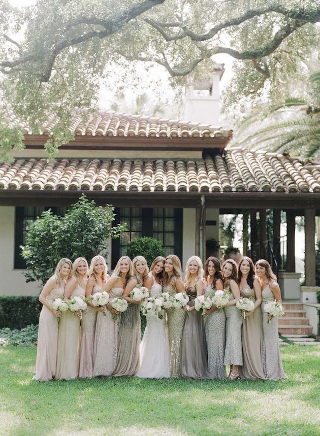 Mix and Match Bridesmaid Dress Ideas | Bridal Musings Wedding Blog 7
