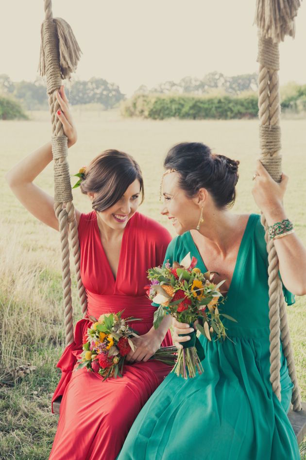 Mix and Match Bridesmaid Dress Ideas | Bridal Musings Wedding Blog 9