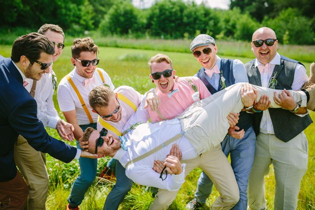 The Best Bachelor Party | Bridal Musings Wedding Blog