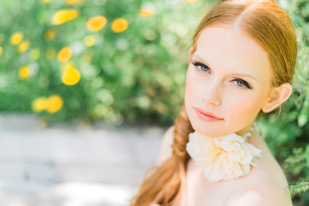 The Flower Bride | Kelsey Genna | Kate Grewal Photography | Bridal Musings Wedding Blog 1