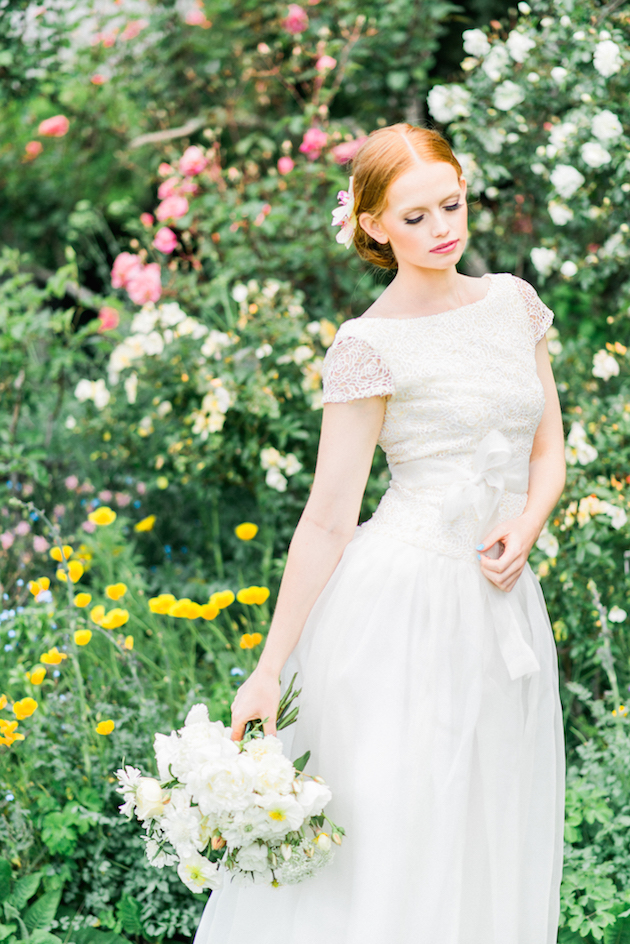 The Flower Bride | Kelsey Genna | Kate Grewal Photography | Bridal Musings Wedding Blog 13