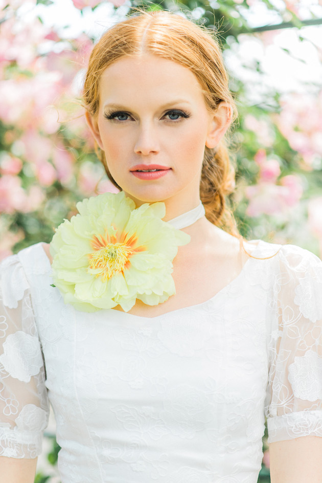 The Flower Bride | Kelsey Genna | Kate Grewal Photography | Bridal Musings Wedding Blog 16