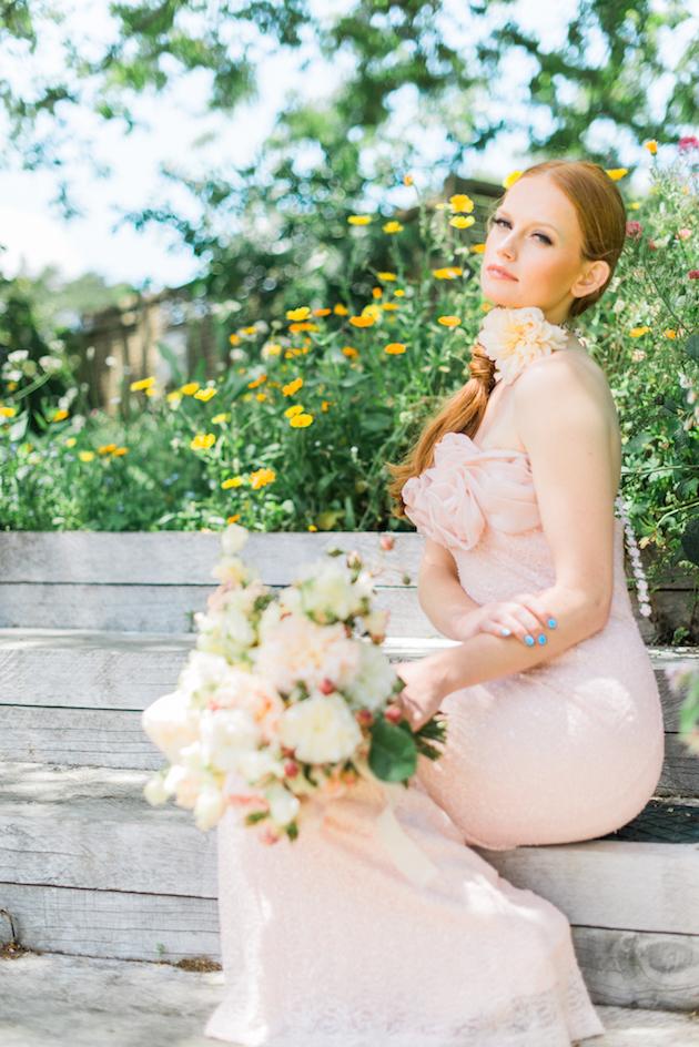 The Flower Bride | Kelsey Genna | Kate Grewal Photography | Bridal Musings Wedding Blog 2