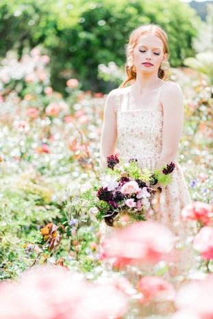 The Flower Bride | Kelsey Genna | Kate Grewal Photography | Bridal Musings Wedding Blog 23
