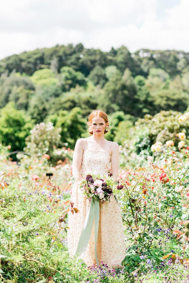 The Flower Bride | Kelsey Genna | Kate Grewal Photography | Bridal Musings Wedding Blog 24