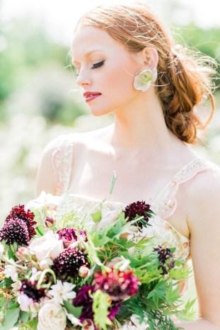 The Flower Bride | Kelsey Genna | Kate Grewal Photography | Bridal Musings Wedding Blog 27