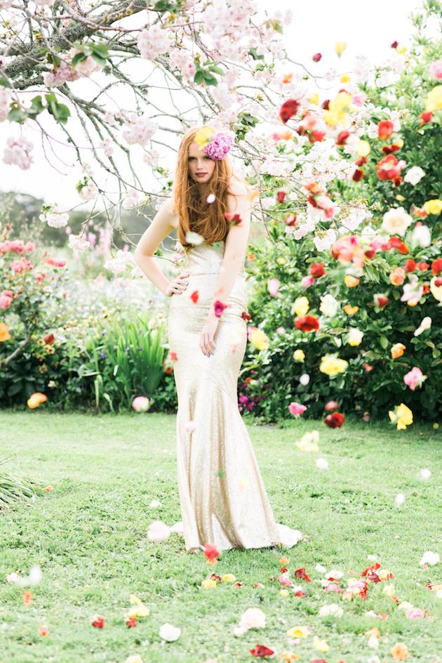 The Flower Bride | Kelsey Genna | Kate Grewal Photography | Bridal Musings Wedding Blog 37
