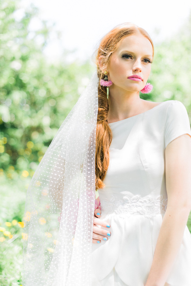 The Flower Bride | Kelsey Genna | Kate Grewal Photography | Bridal Musings Wedding Blog 5