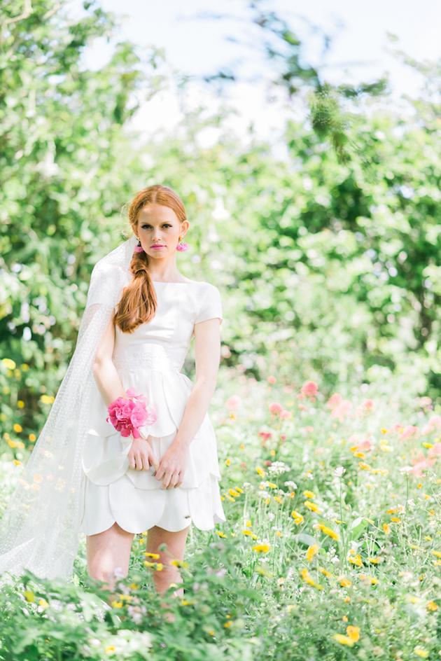The Flower Bride | Kelsey Genna | Kate Grewal Photography | Bridal Musings Wedding Blog 7