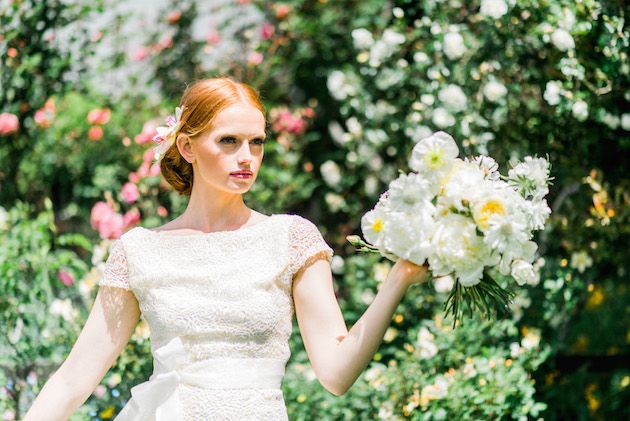 The Flower Bride | Kelsey Genna | Kate Grewal Photography | Bridal Musings Wedding Blog 9