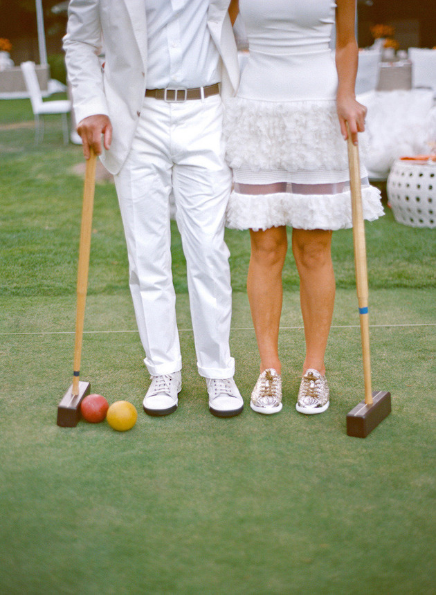 Wedding Lawn Games | Bridal Musings Wedding Blog