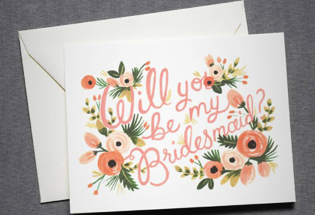 "20 ""will you be my bridesmaid?"" cards 