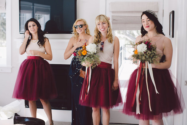 Fall Wedding With Black Bridesmaid Dresses : Burgundy wedding evangeline lane photography bridal musings