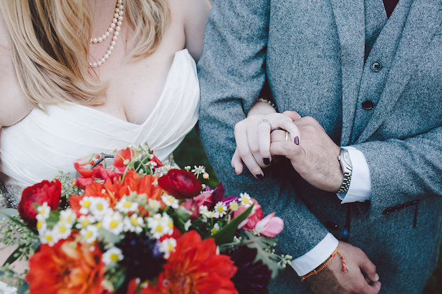 Beautiful Burgundy Wedding | Evangeline Lane Photography | Bridal Musings Wedding Blog 32