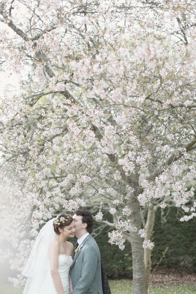 Cherry Blossoms | Spring Wedding | Bridal Musings Wedding Blog