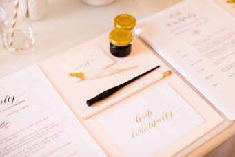 Gemma Milly Calligraphy Workshop, Plus Expert Tips for DIY Calligraphy