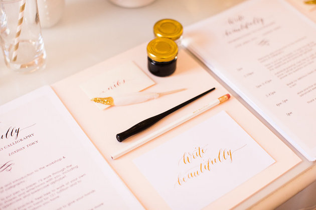 Gemma Milly Calligraphy Workshop | Roberta Facchini Photography | Bridal Musings Wedding Blog 1