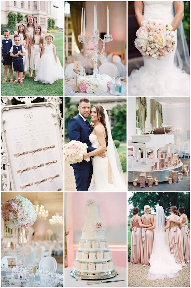 Glamorous english wedding with luxe decor and gorgeous style weddbook junglespirit Image collections