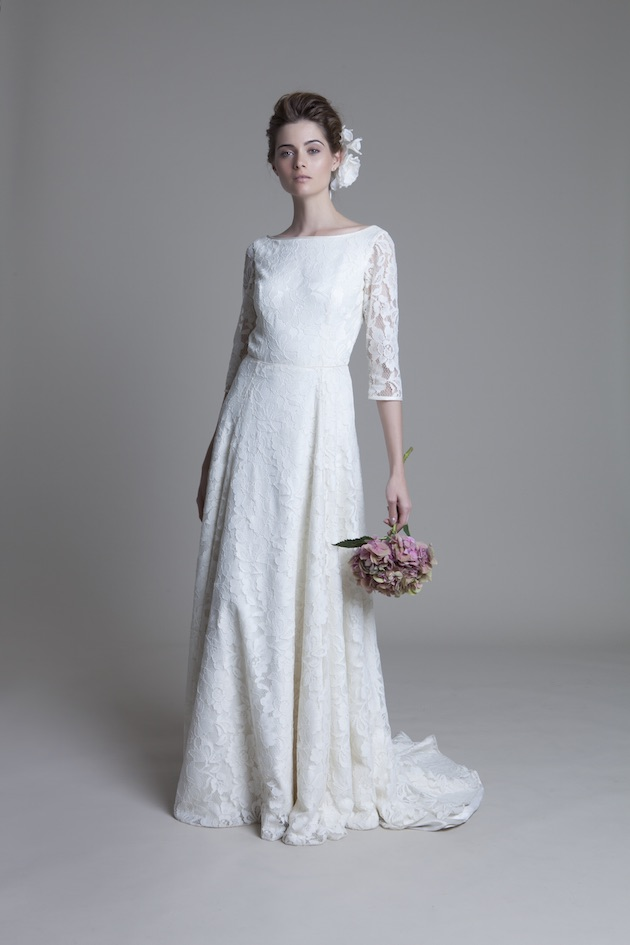Halfpenny london wedding dress collection Kate collins wedding dress design