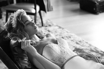 Film Noir in White: Utterly Gorgeous Lihi Hod Wedding Dress Collection