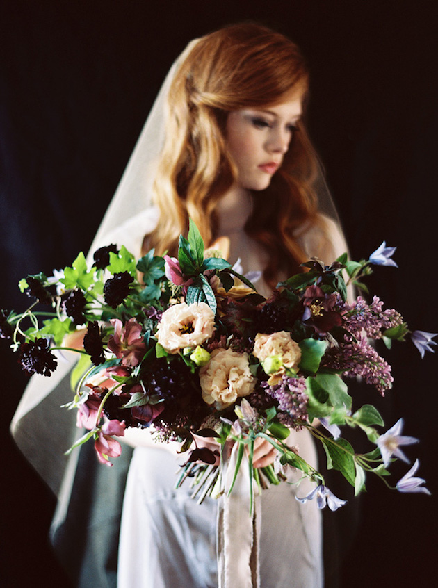 Lilac Spring Bouquets | Bridal Musings Wedding Blog