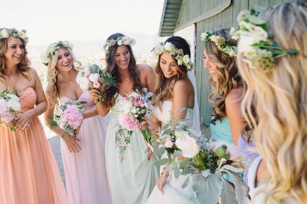 Pastel Wedding | Spring Wedding Ideas | Bridal Musings Wedding Blog