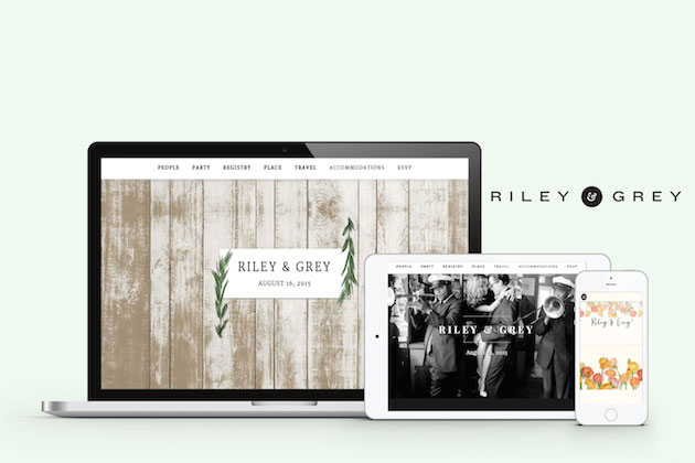 Riley & Grey Wedding Websites | Bridal Musings Wedding Blog 8