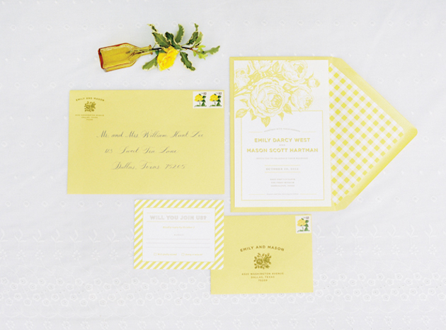 Yellow Wedding | Spring Wedding Ideas | Bridal Musings Wedding Blog