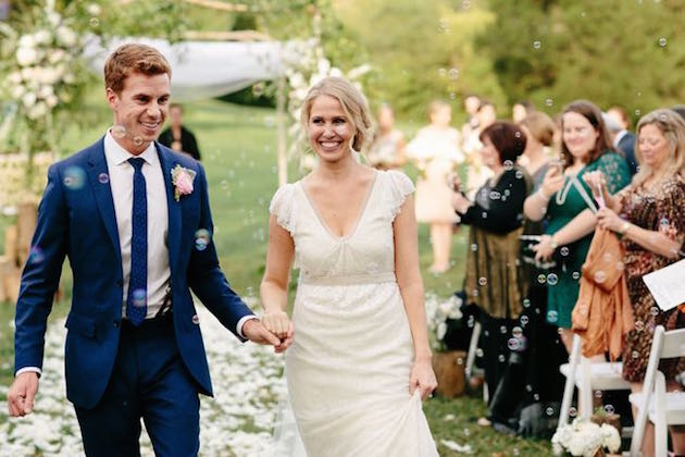 Beautiful Rustic Wedding at Cedarwood | Q Avenue Photo | Bridal Musings Wedding Blog 46