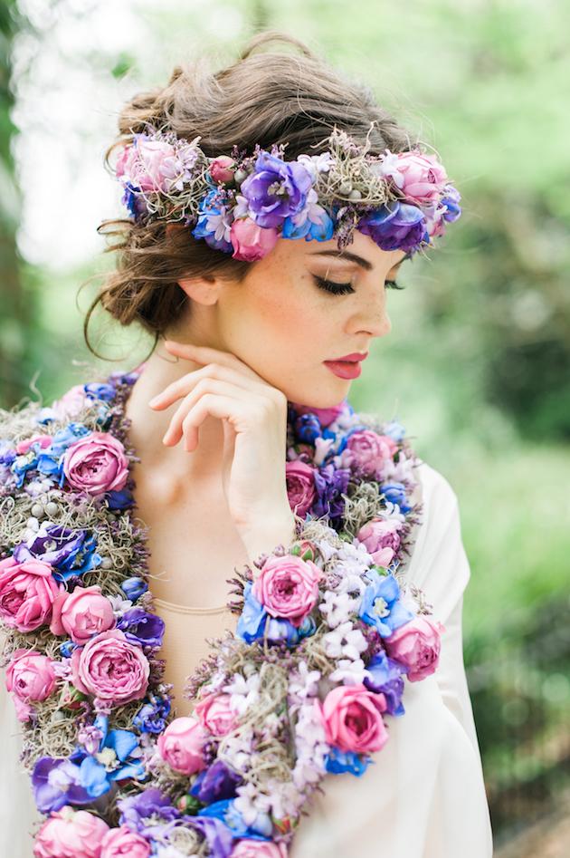 Real Flower Dresses
