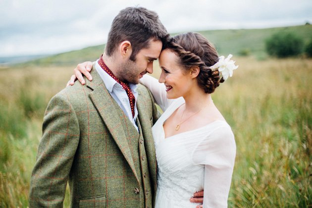 Dartmoor Wedding Inspiration Shoot | Helen Abraham | Adrian Fisk | Bridal Musings Wedding Blog 13