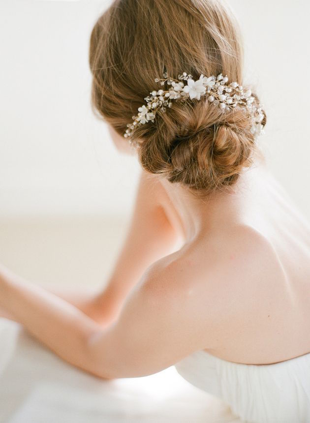 Wedding Hair Inspiration 12 Gorgeous Low Buns