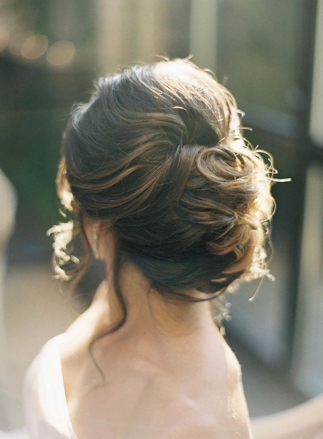 low maintenance hairstyles for thick hair : Wedding Hairstyles Low Bun wedding hair inspiration: 12 gorgeous low ...