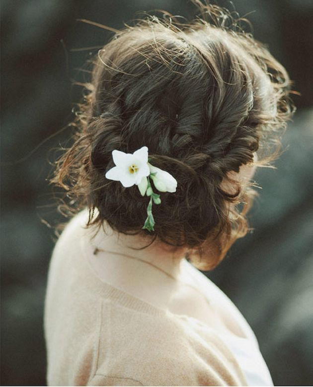 Wedding Hairstyle Low Bun: Wedding Hair Inspiration: 12 Gorgeous Low Buns
