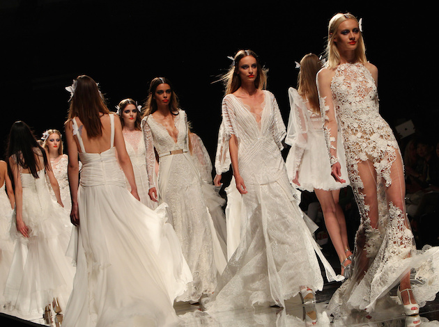 yolan chris barcelona bridal week 2014
