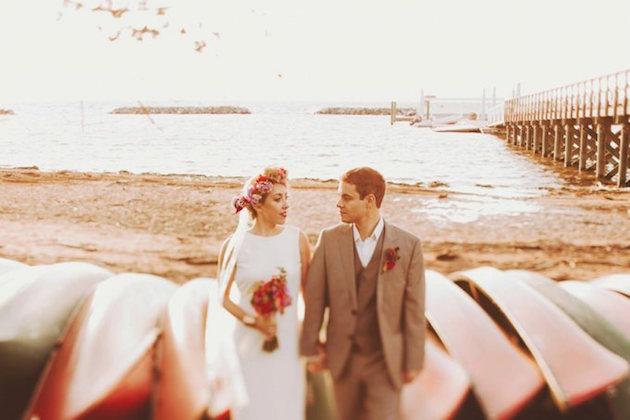 189b13b72f4 Modest Musings - Seaside Summer Camp Wedding The Modest Florist