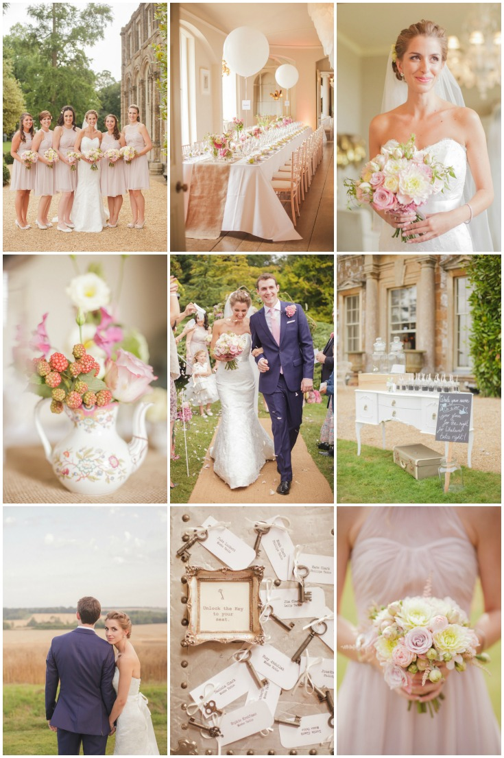 Elegant english wedding with a touch of whimsy weddbook junglespirit Choice Image