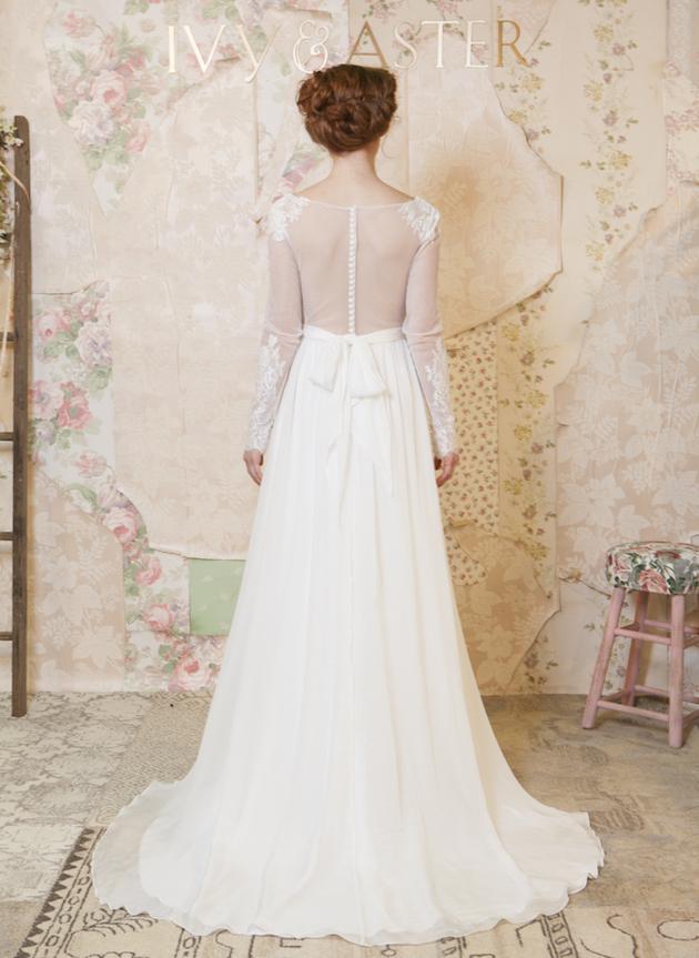 60d08fcf973ac Ivy & Aster Wedding Dress Collection 2016 - Weddbook