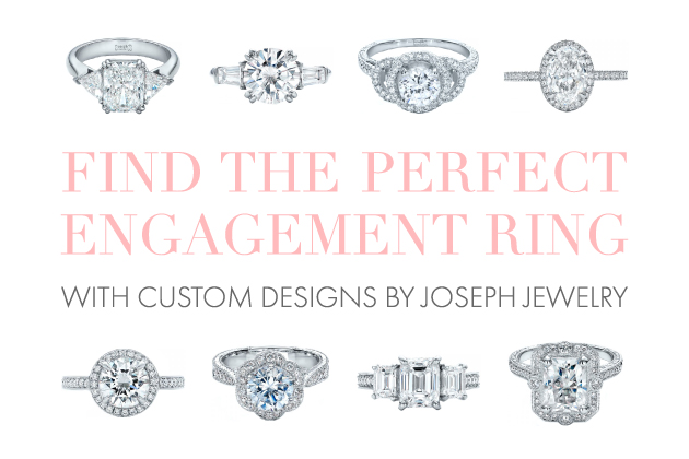 Joseph Jewelry | Find the Perfect Customized Engagement Ring | Bridal Musings